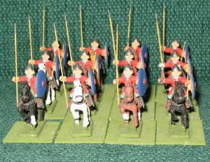 Byzantine Trapezitos Light Cavalry 12 Figures